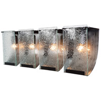 Rain 4 Light 32 inch Rainy Night Vanity Wall Light