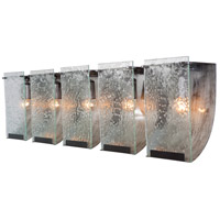 Varaluz Rain 5 Light Vanity in Rainy Night 160B05