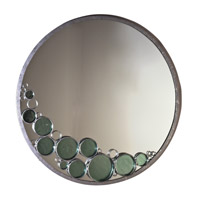 Varaluz Fascination Mirror in Nevada Silver with Random Silver Leafing 165A01