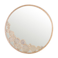 Varaluz Fascination Mirror in Zen Gold with Champagne Glass 165A01ZG