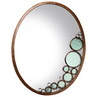 Fascination 30 X 22 inch Hammered Ore Wall Mirror, Varaluz Casa