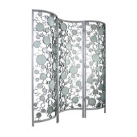 Varaluz Fascination Room Divider in Nevada Silver with Random Silver Leafing 165A04 photo thumbnail