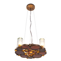 Varaluz Fascination 3 Light Chandelier in Kolorado 165C03KO photo thumbnail