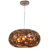 Varaluz 165C04KO Fascination 4 Light 24 inch Kolorado Chandelier Ceiling Light photo thumbnail