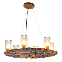 Varaluz Fascination 6 Light Chandelier in Kolorado 165C06KO