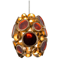 Varaluz Fascination 1 Light Mini Pendant in Kolorado 165M01KO