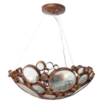 Fascination 3 Light 20 inch Hammered Ore Pendant Ceiling Light