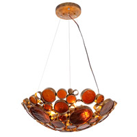 Fascination 3 Light 20 inch Kolorado Pendant Ceiling Light