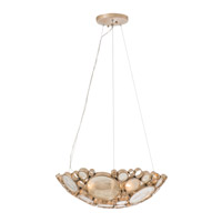Fascination 3 Light 20 inch Zen Gold Pendant Ceiling Light