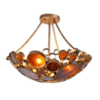Fascination 3 Light 20 inch Kolorado Semiflush Ceiling Light