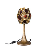 Varaluz Fascination 1 Light Table Lamp in Kolorado 165T01KO