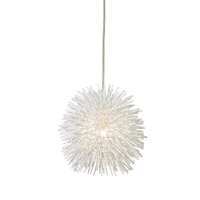 Varaluz 169M01SWH Urchin 1 Light 6 inch White Mini Pendant Ceiling Light alternative photo thumbnail