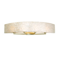 Varaluz 173B04A Radius 4 Light 36 inch Gold Dust Vanity Wall Light in Sustainable Crushed Natural Capiz Shell alternative photo thumbnail