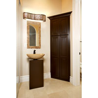 Varaluz Affinity 3 Light Vanity in New Bronze 175B03 alternative photo thumbnail