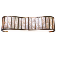 Affinity 3 Light 27 inch New Bronze Vanity Wall Light