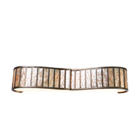Varaluz 175B04 Affinity 4 Light 36 inch New Bronze Vanity Wall Light photo thumbnail