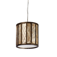 Varaluz 175M01 Affinity 1 Light 8 inch New Bronze Mini Pendant Ceiling Light alternative photo thumbnail