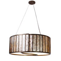 Affinity 4 Light 24 inch New Bronze Pendant Ceiling Light