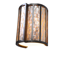 Varaluz Affinity 1 Light Sconce in New Bronze 175W01
