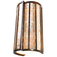 Varaluz Affinity 2 Light Sconce in New Bronze 175W02 photo thumbnail