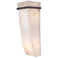 Varaluz 178K02A Big 2 Light 7 inch Brilliant Mojave Sconce Wall Light in Reclaimed Kabebe Shell