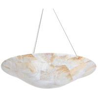 Varaluz Big 4 Light Chandelier in Reclaimed Kabebe Shell 178P04A