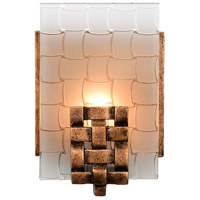 Varaluz Dreamweaver 1 Light Vanity in Blackened Copper 180B01