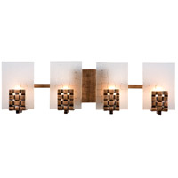 Dreamweaver 4 Light 22 inch Blackened Copper Vanity Wall Light