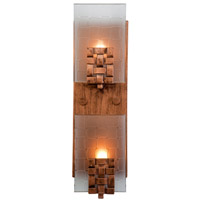 Dreamweaver 2 Light 5 inch Blackened Copper Vanity Wall Light