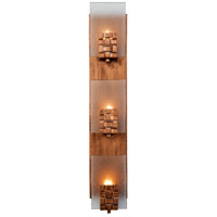 Dreamweaver 3 Light 5 inch Blackened Copper Vanity Wall Light
