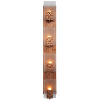 Varaluz Dreamweaver 4 Light Vanity in Blackened Copper 180W04