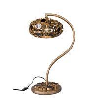 Varaluz Fascination 1 Light Question Mark Table Lamp in Kolorado 193T01KO