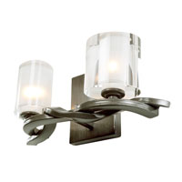 Recycled Varaluz Braid Bath Light - ADA Two Light in Insignia 194B02 photo thumbnail