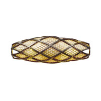 Varaluz Argyle 2 Light Vanity in New Bronze w/ Desert Pearl 203B02