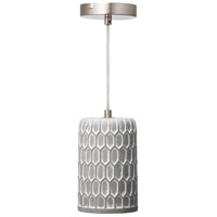 Varaluz 211M01C Pottery Perfect 1 Light 6 inch Chrome Mini Pendant Ceiling Light