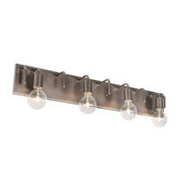 Varaluz Socket-To-Me 4 Light Vanity Wall Sconce in New Bronze 219B04NB