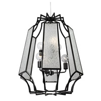 Varaluz Go-Go 6 Light Pendant in Black 220P06BL alternative photo thumbnail