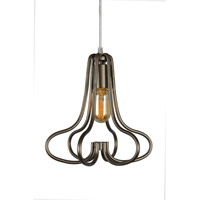 The Whole Package 1 Light 10 inch New Bronze Mini Pendant Ceiling Light