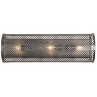 Varaluz 231B03NB Lit-Mesh Test 3 Light 24 inch New Bronze Vanity Wall Light