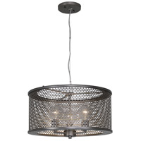 Lit-Mesh Test 3 Light 18 inch New Bronze Pendant Ceiling Light
