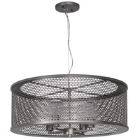 Lit-Mesh Test 4 Light 24 inch New Bronze Pendant Ceiling Light