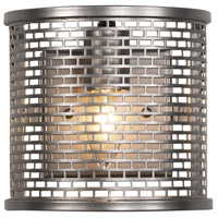 Varaluz Lit-Mesh Test 1 Light Sconce in New Bronze 231W01NB