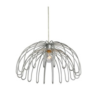Varaluz Clyde 1 Light Pendant in Painted Chrome 232P01CH