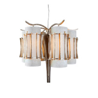 Varaluz Occasion 6 Light Chandelier in Zen Gold 233C06ZG