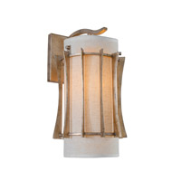 Occasion 1 Light 8 inch Zen Gold Sconce Wall Light