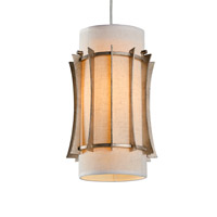 Varaluz 233M01ZG Occasion 1 Light 9 inch Zen Gold Mini Pendant Ceiling Light