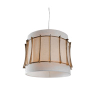 Occasion 3 Light 18 inch Zen Gold Pendant Ceiling Light