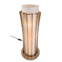 Varaluz Occasion 3 Light Table Lamp in Zen Gold 233T03ZG