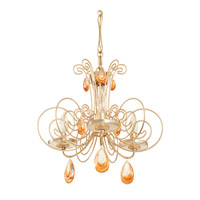 Elysse 3 Light 16 inch Gold Dust Mini Chandelier Ceiling Light