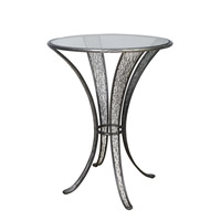 Flow 30 inch Steel Pub Table Home Decor, Varaluz Casa